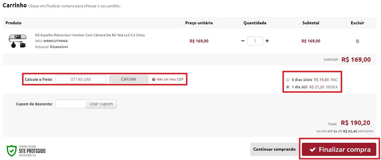 528f717504 Como Comprar - Madrucar