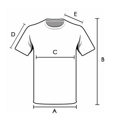 Imagem com medidas em cm