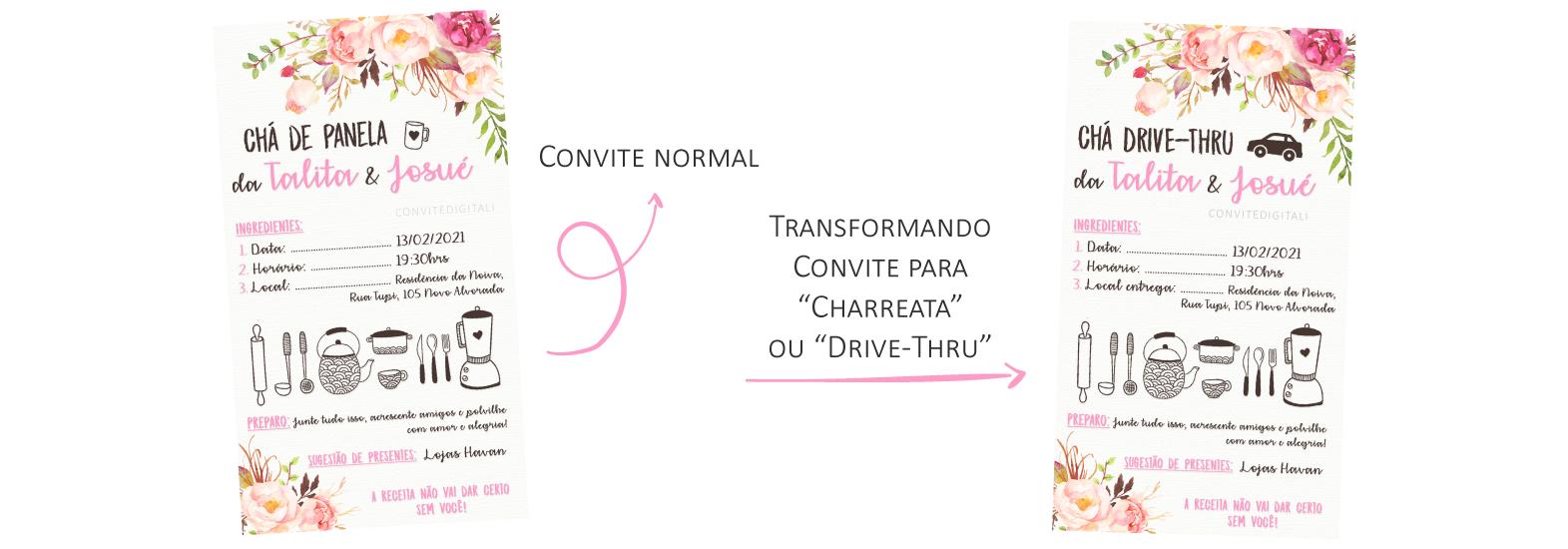 Convite-digital-cha-Charreata-ou-cha-Drive-Thru
