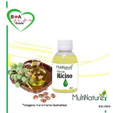 57a60bfbd OLEO DE RICINO MULTINATURE 60ML - Boa Saúde Loja Virtual - Dedicação ...