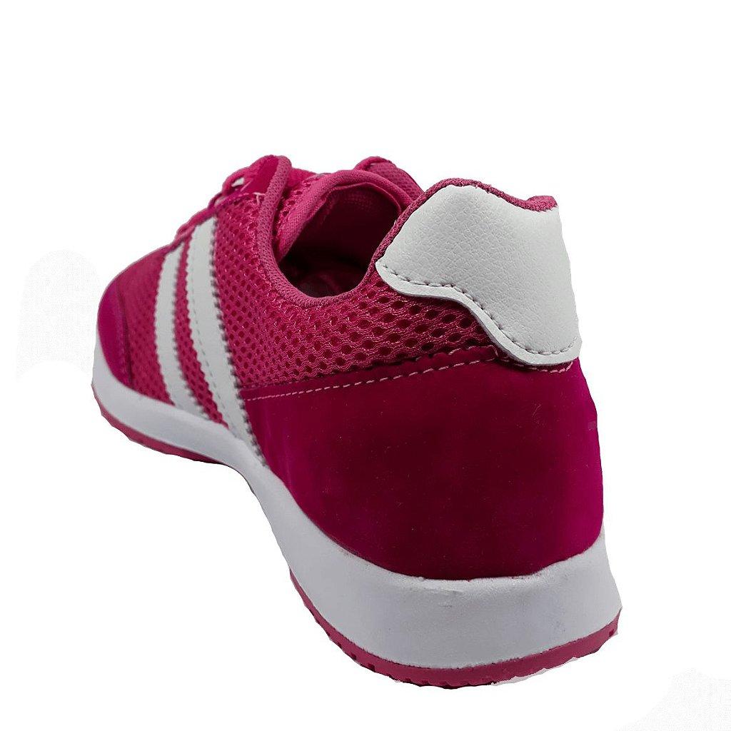 6cf8470ef Tênis Via Vip Pink Branco - 314 - Dazoom - Tudo para Você