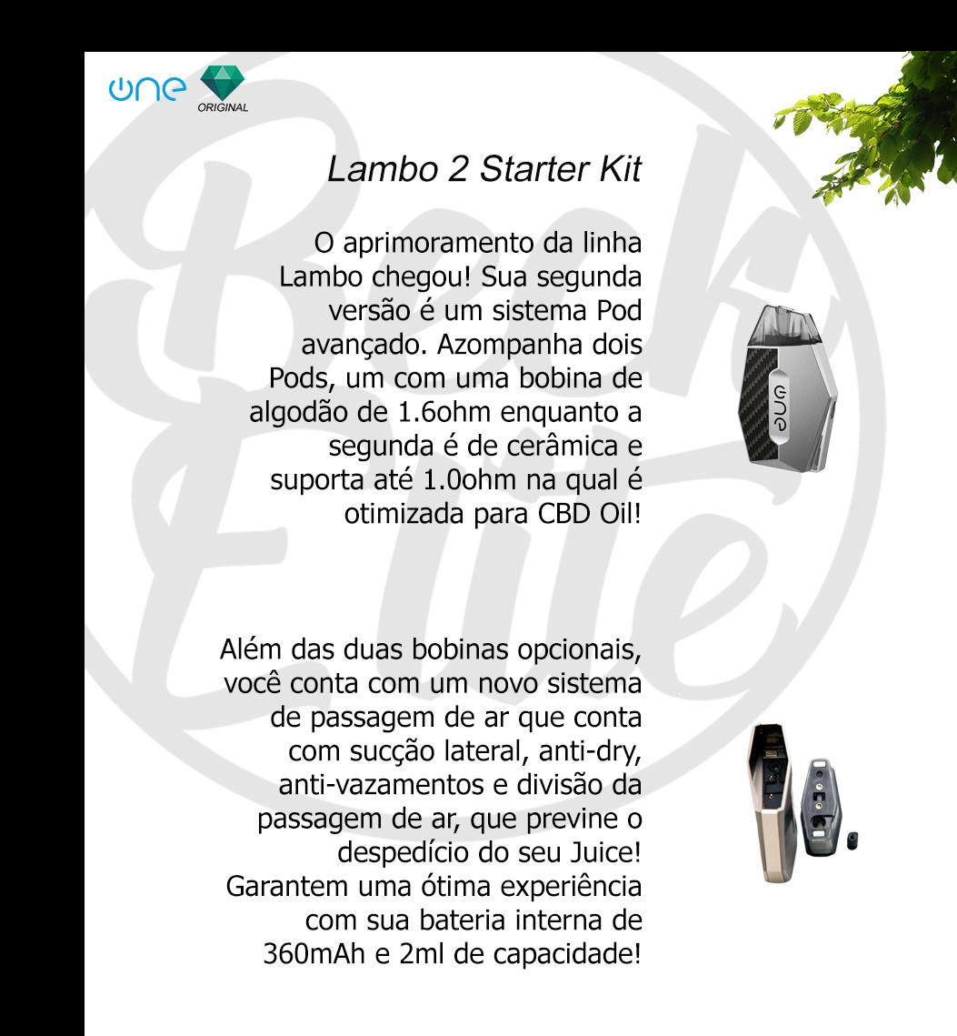 Kit Pod System Lambo II
