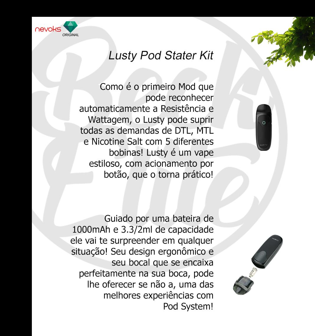 Kit Pod System Nevosky Lusty
