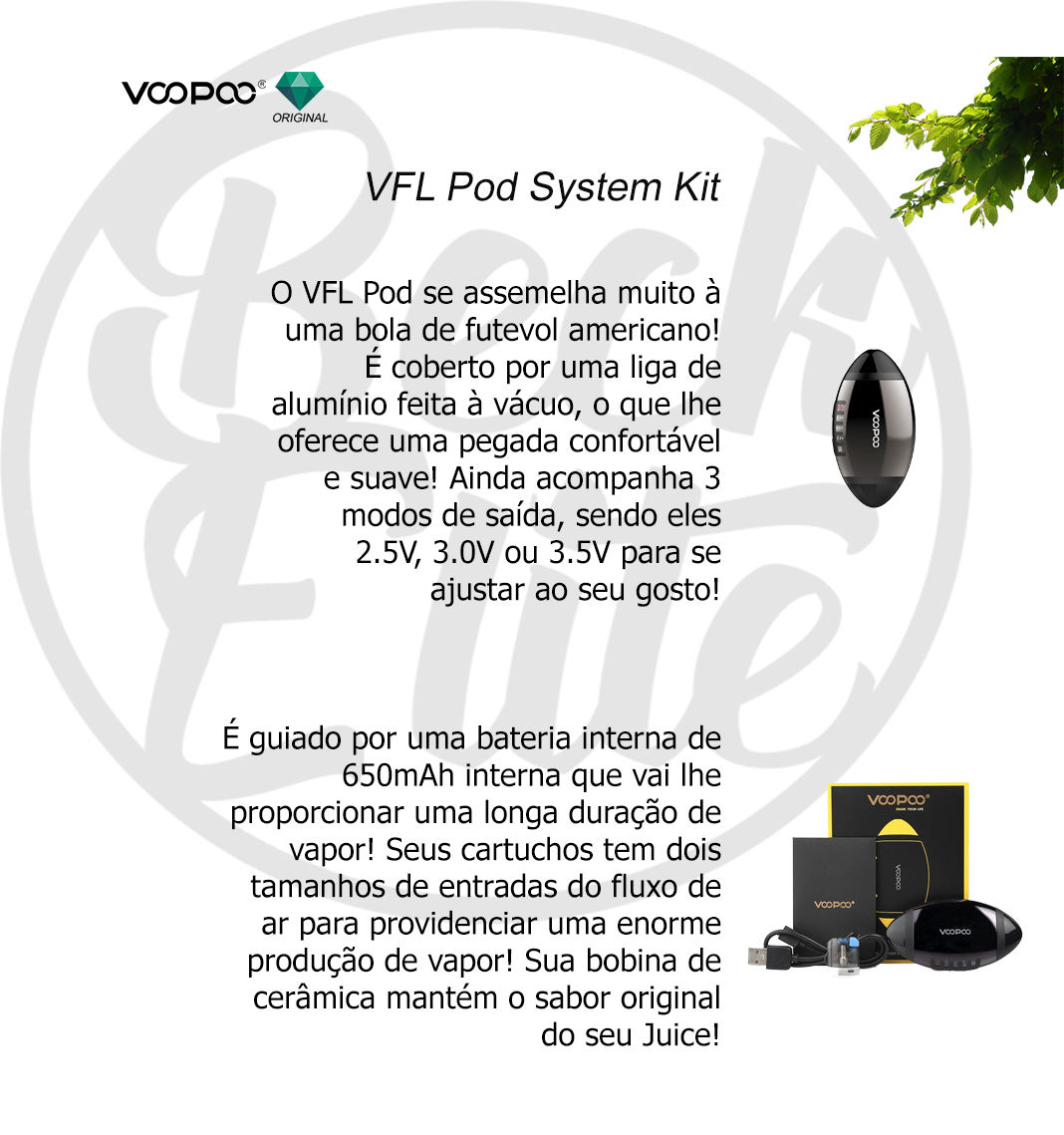 Kit Pod System Voopoo VFL