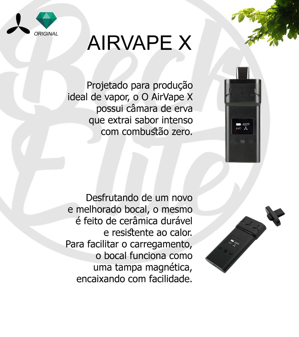Vaporizador ervas Airvape X