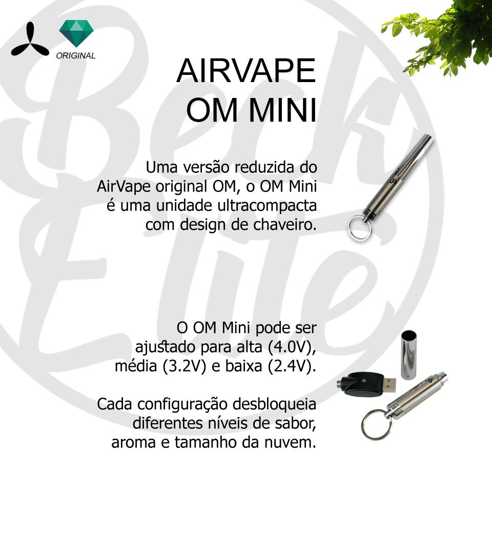 Vaporizador ervas Airvape OM Mini