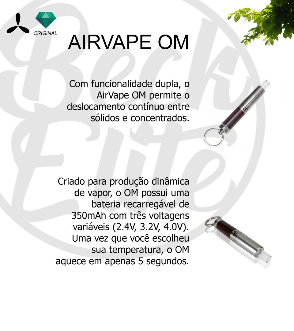Vaporizador ervas Airvape OM