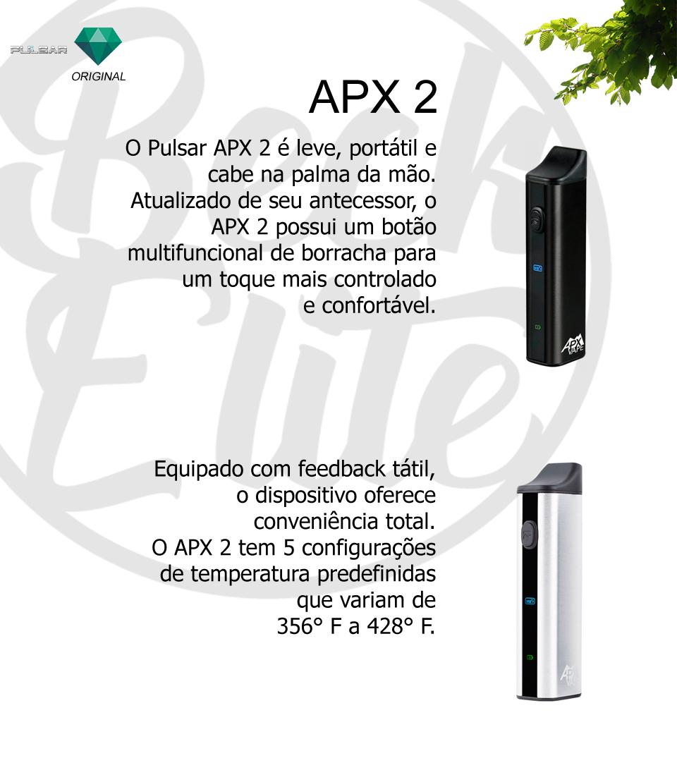 Vaporizador ervas APX 2