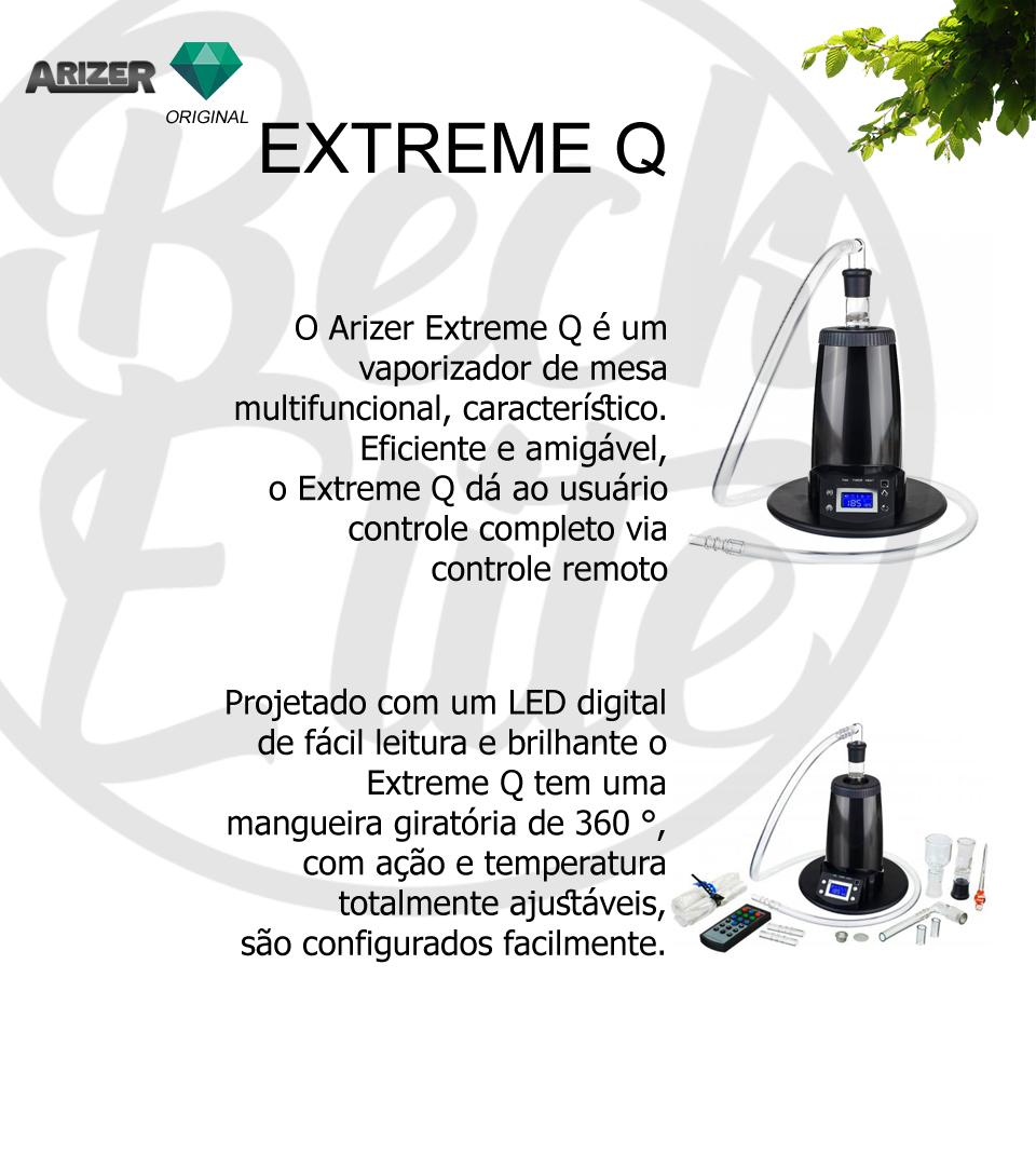 Vaporizador ervas Arizer Extreme Q