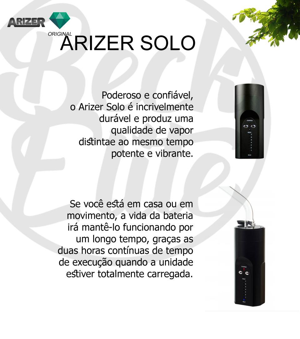 Vaporizador ervas Arizer Solo