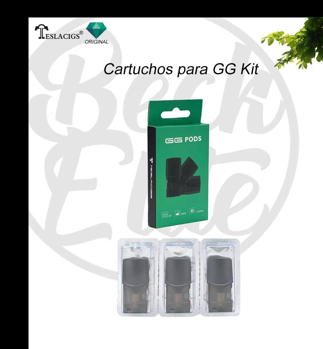 Cartucho CG POD - TeslaCig