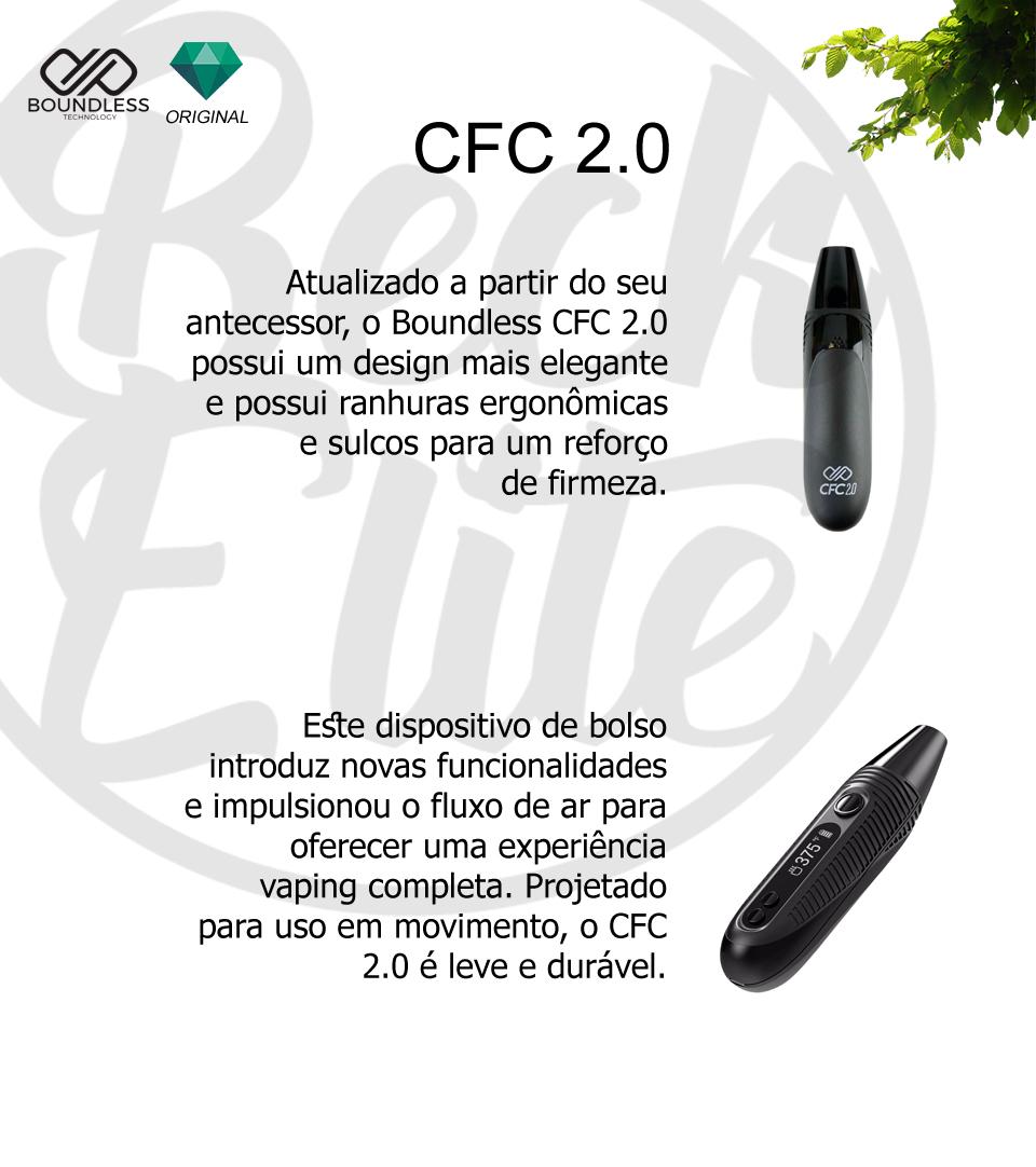 Vaporizador ervas Boundless CFC 2.0