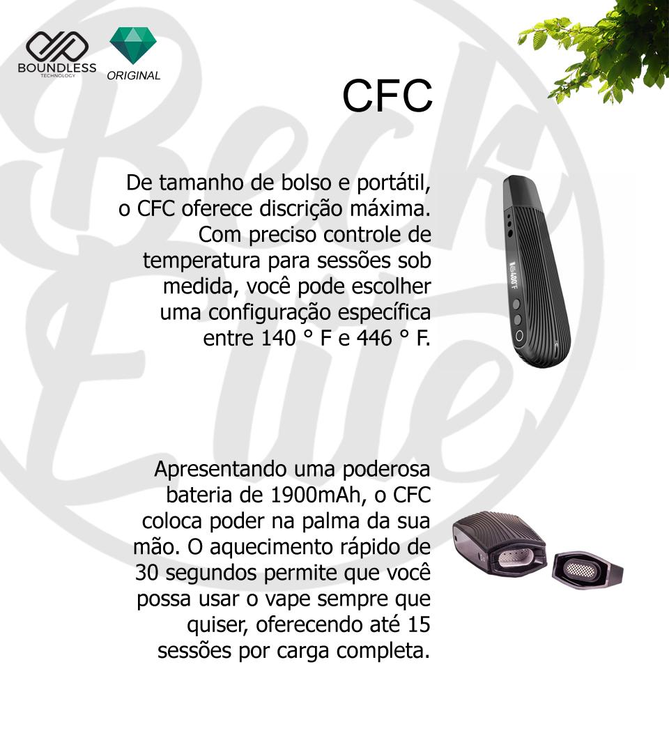 Vaporizador ervas Boundless CFC