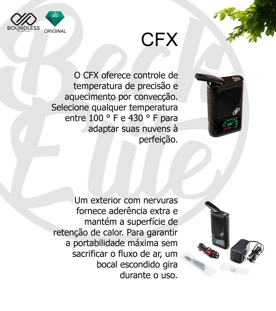 Vaporizador ervas Bounless CFX