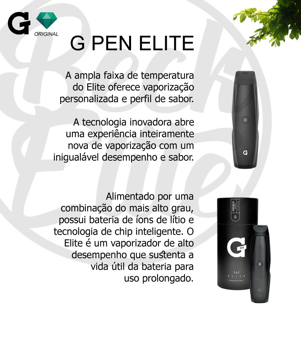 Vaporizador ervas G Pen Elite