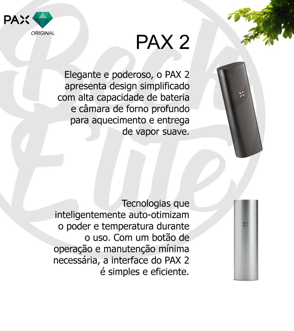 Vaporizador ervas PAX 2
