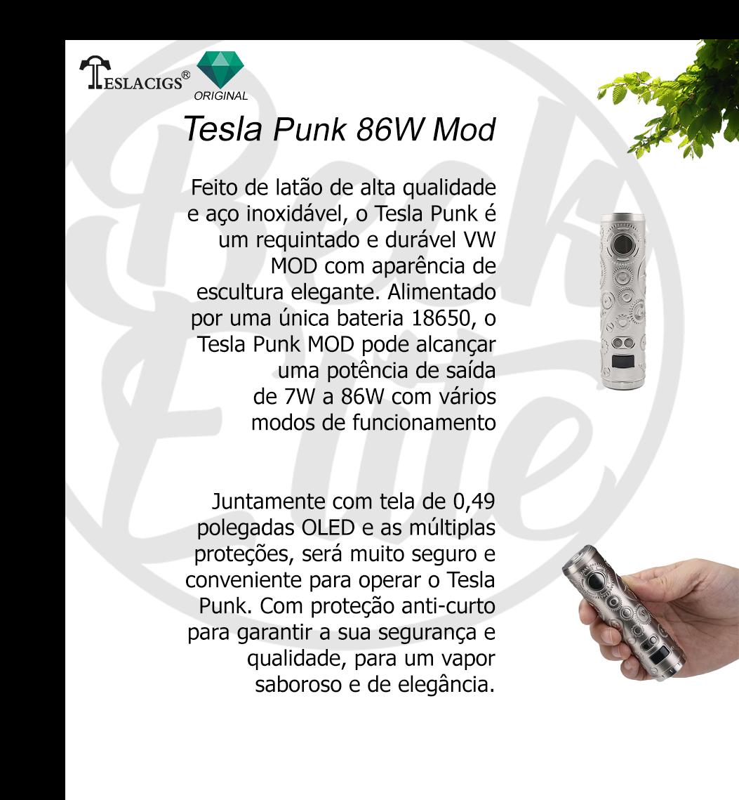 Vaporizador de líquidos Punk 86W Mod