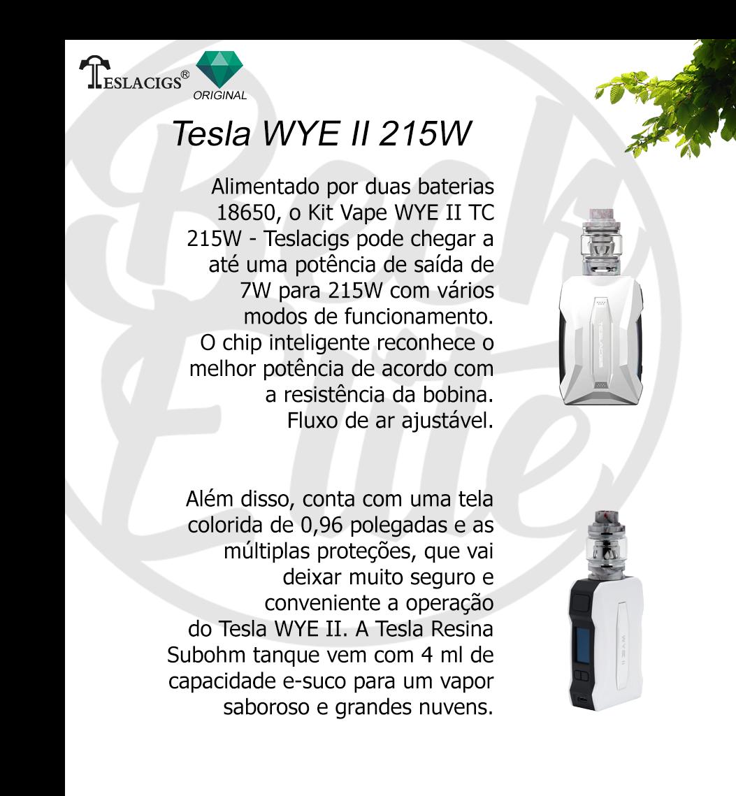 Vaporizador líquidos Wye  215W Kit
