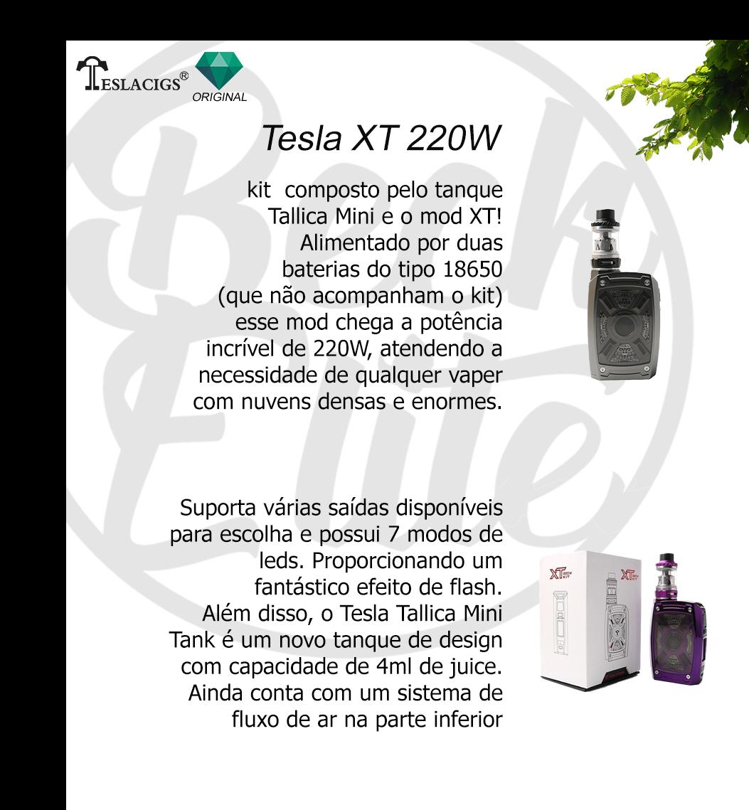 Vaporizador líquido XT 220W Kit
