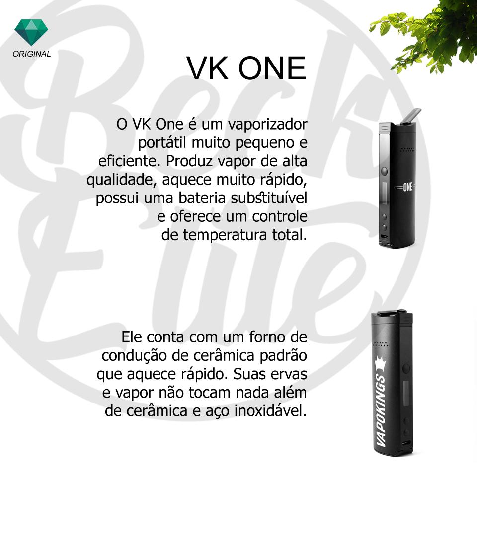 Vaporizador ervas VK One