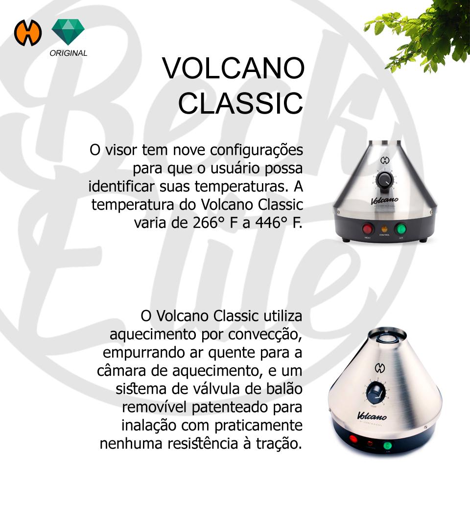 Vaporizador ervas Volcano Classic