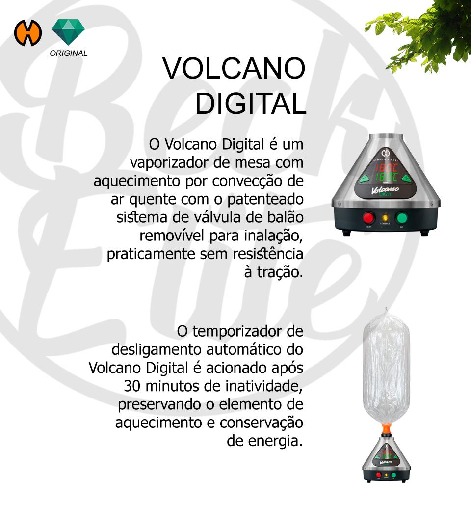 Vaporizador ervas Volcano Digital