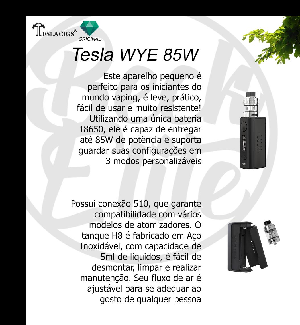 Vaporizador líquidos WYE 85W KIT Tallica Mini