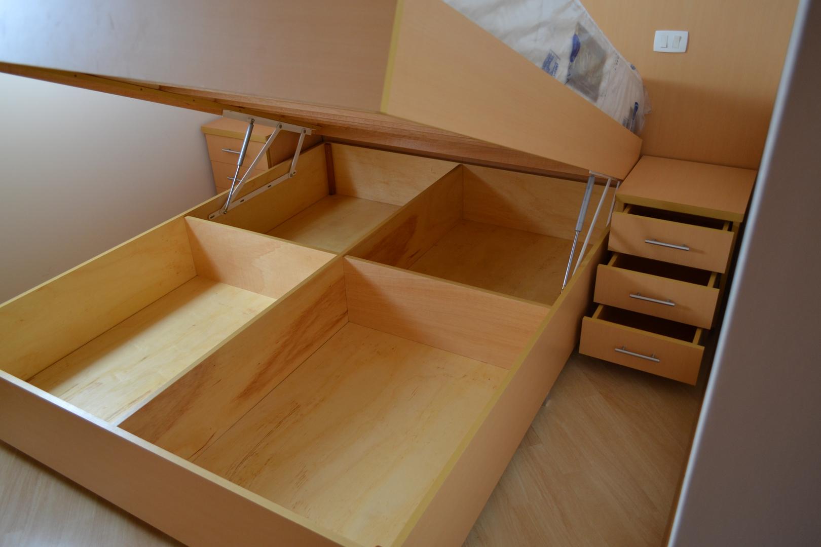 montagem de cama
