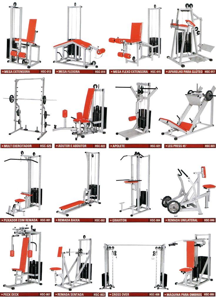 Amado Aparelhos Profissionais - Formato Fitness - Fabricação Própria YH71