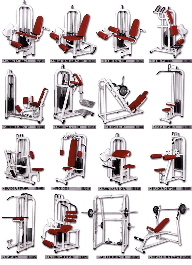 Muito Aparelhos Profissionais - Formato Fitness - Fabricação Própria QQ67