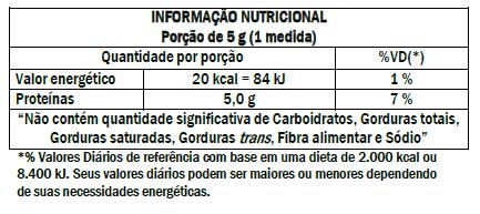 d322528d4 Cada porção sugerida fornece 5 g deste aminoácido considerado  condicionalmente essencial. INGREDIENTES  L-Glutamina. NÃO CONTÉM GLÚTEN.