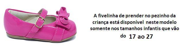 Sapatilha Infantil Rosa Pink Claro Mae e Filha