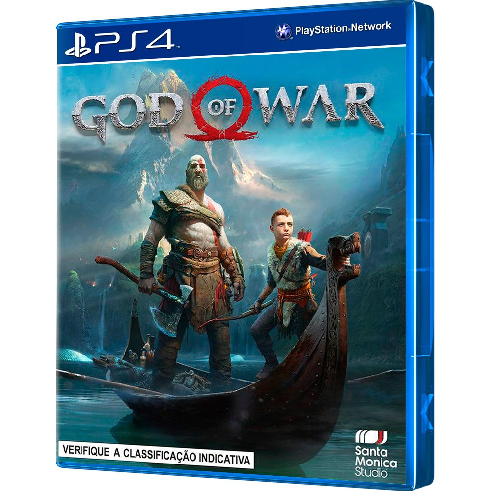 Console Sony PlayStation 4 Pro CUH-7115B - 1 TB - PS4 + 1 controle + God of War 4