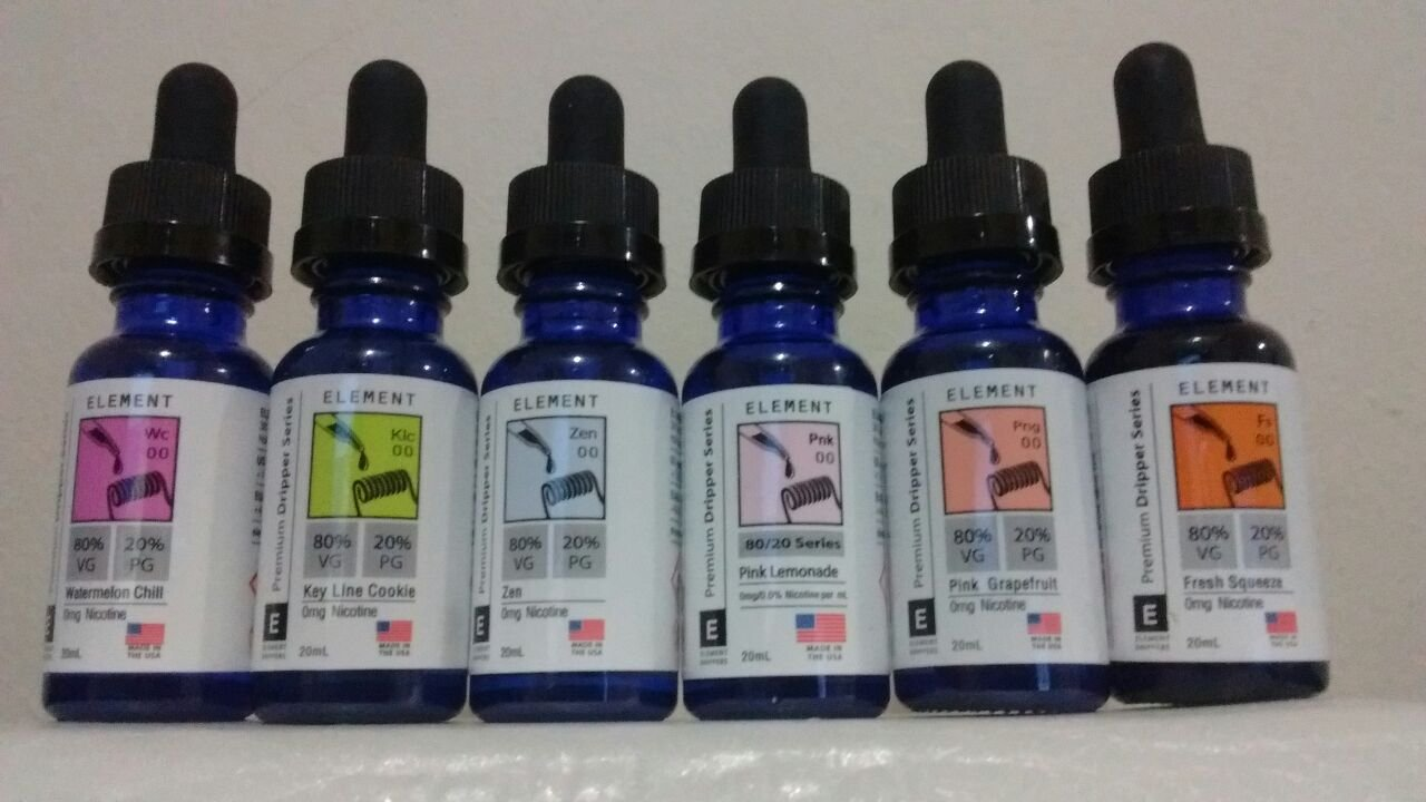 E-Liquid Element S/ Nicotina