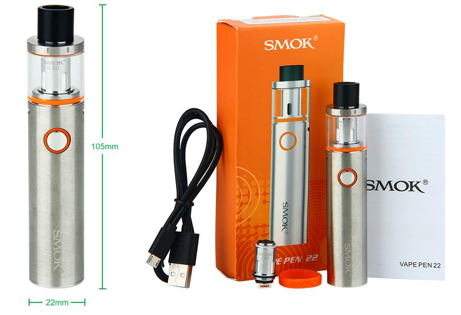 Cigarro eletrônico Vape pen 22 - Smoke
