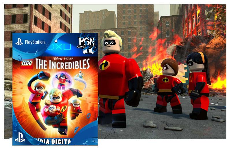 LEGO OS INCRÍVEIS - PSN PS4 - MÍDIA DIGITAL