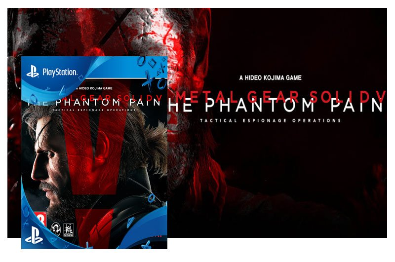 METAL GEAR SOLID V THE PHANTOM PAIN - PSN PS4 - MÍDIA DIGITAL