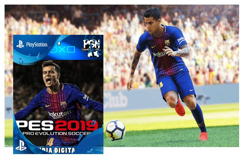PRO EVOLUTION SOCCER 2019 PES 19 - PSN PS4 - MÍDIA DIGITAL