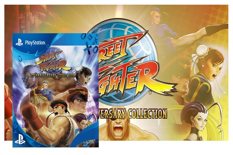 STREET FIGHTER 30TH ANNIVERSARY COLLECTION - PSN PS4 - MÍDIA DIGITAL