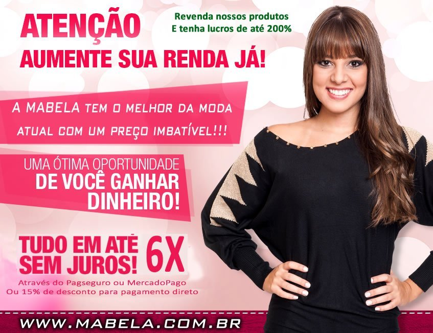 Compras no Atacado - Lojas Mabela - Roupas Femininas - Moda Feminina! 9c96dce8c4e66