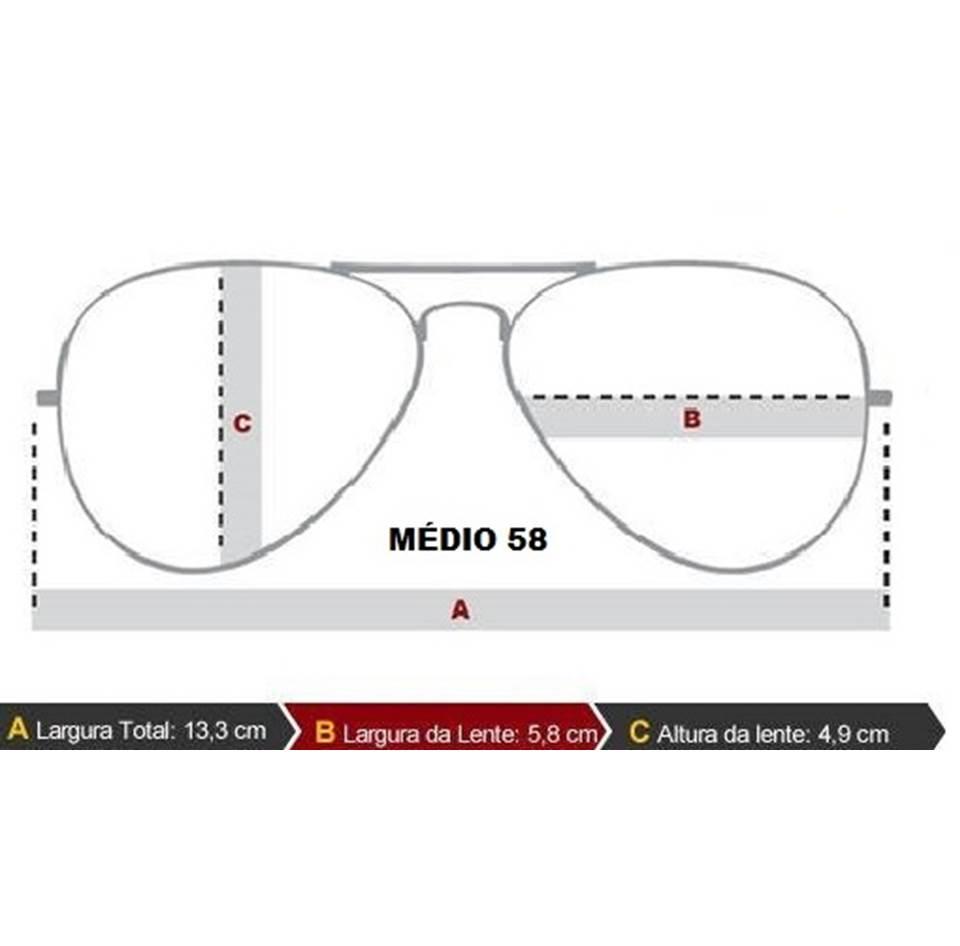 b343c97d06a24 Armação Para Óculos De Grau Ray-ban Aviador Prata Unissex - Replicas ...