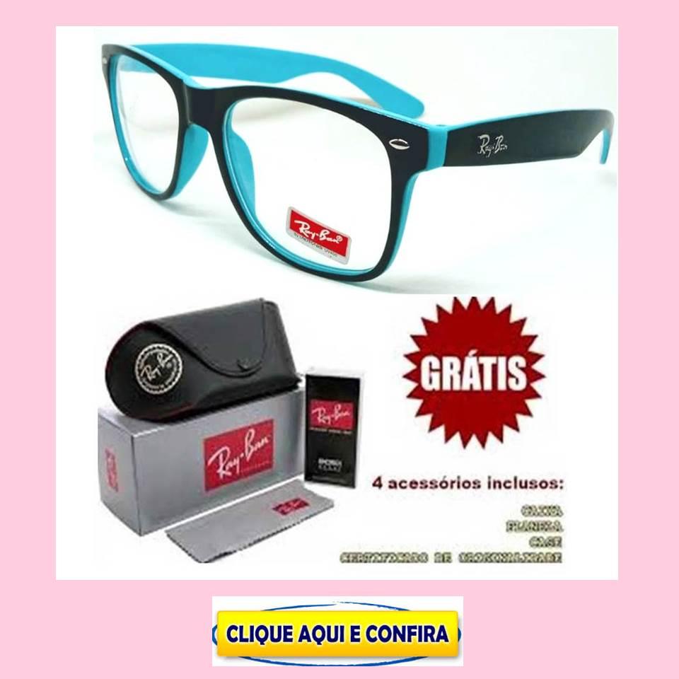 Armação Para óculos De Grau Masculino Ray Ban Replicas De