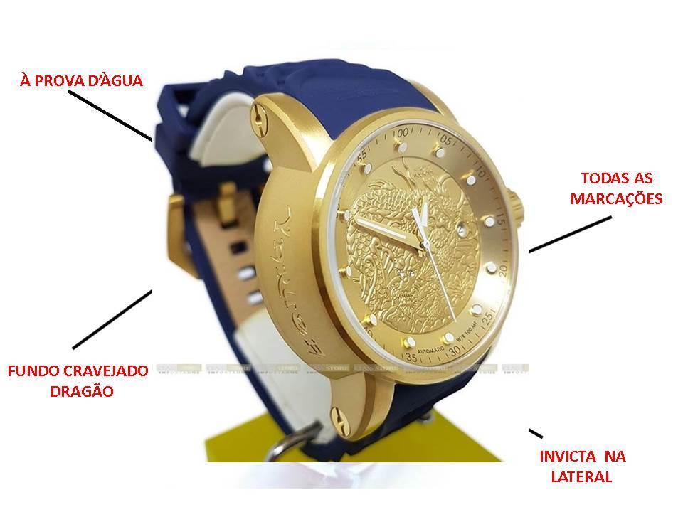 Relógio Invicta S1 Azul