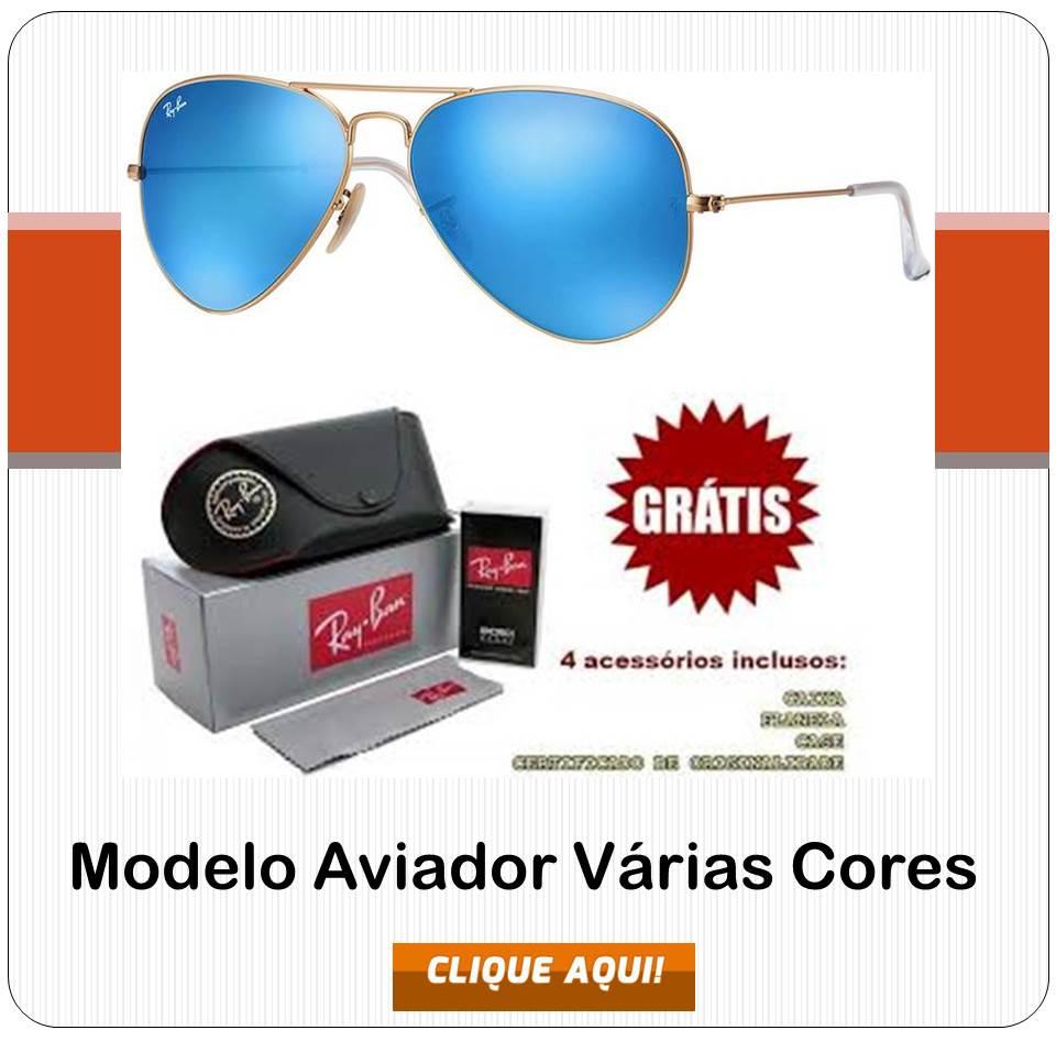 2de78241d70f0 Replicas de Óculos Ray Ban primeira linha, modelo Aviador, Clubmaster,  Hexagonal, Round