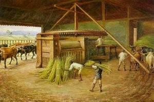 """Engenho de cana"", pintura de Hercule Florence"