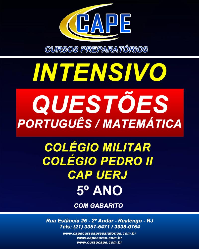 Apostila contendo questões extras de português e matemática com gabarito
