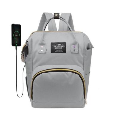 Bolsa Mochila Maternidade com USB