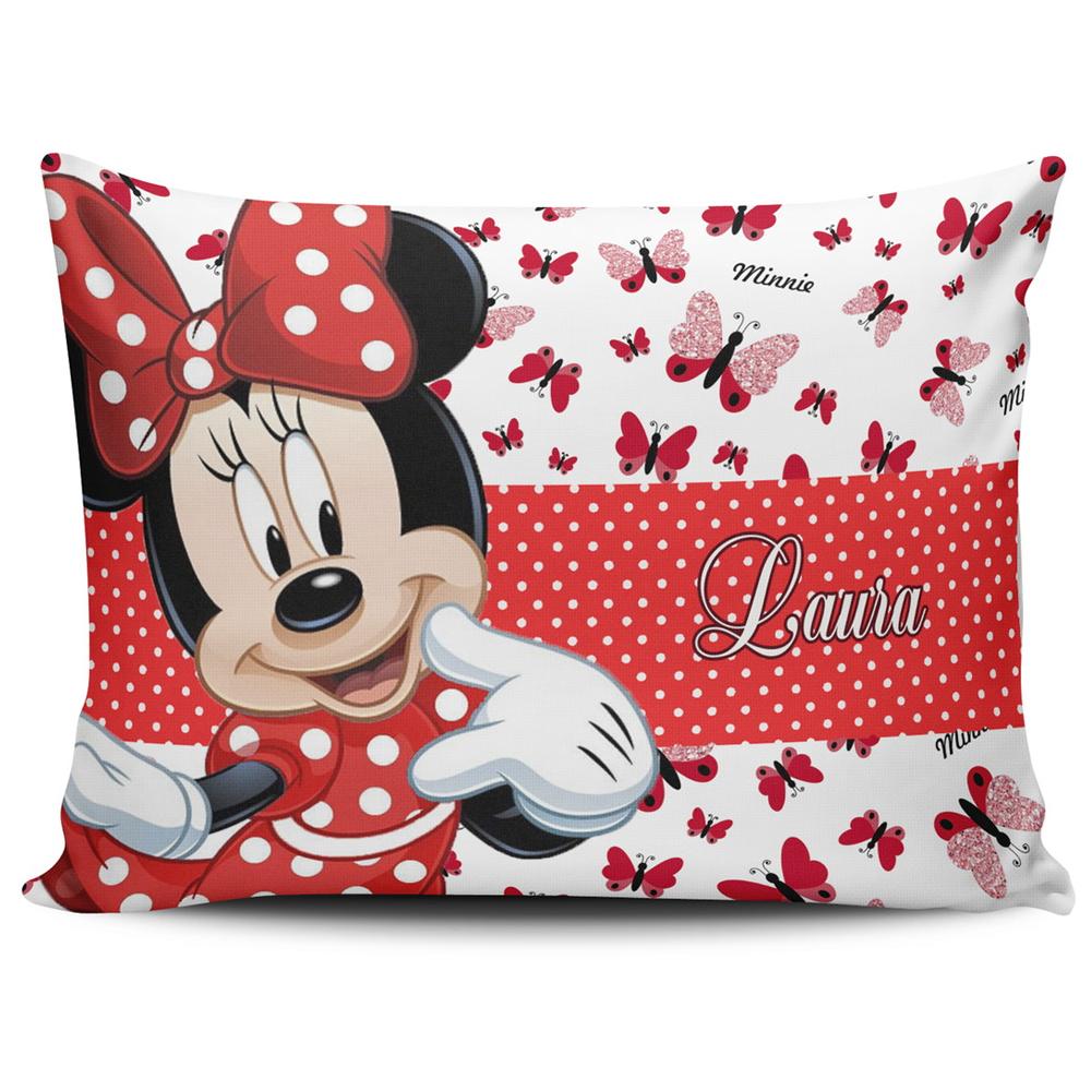Almofada Personalizada Minnie Vermelha