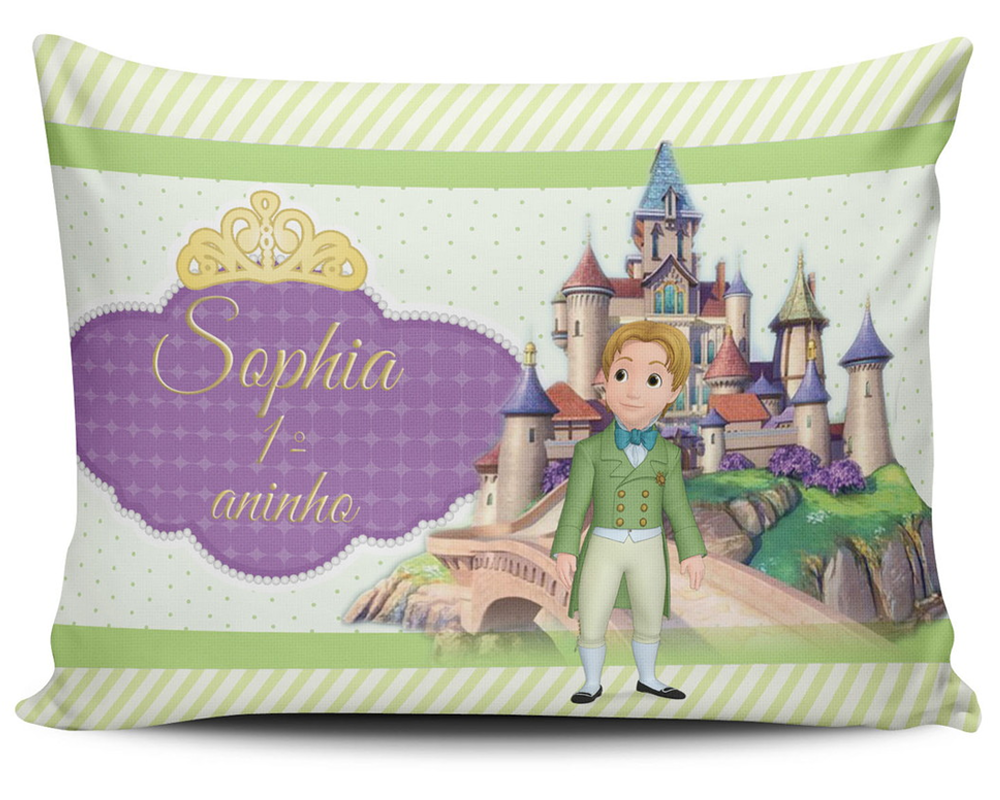 Almofada Personalizada Princesa Sophia