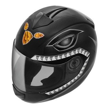 Capacete Fly Fun Power - Preto